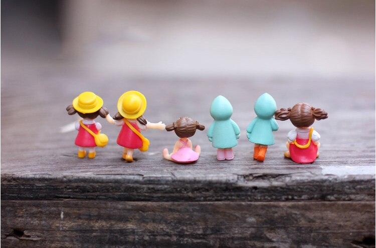 1 шт., миниатюрные фигурки аниме для девочек, фигурки для террариумов, фигурки, сказочные садовые суккуленты, настольный декор для детей, пластиковые поделки|Статуэтки и миниатюры|   | АлиЭкспресс