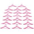 Лот 20 Шт. Розовый Вешалки Одежда Платье Аксессуары Для Куклы Барби Разыгрывает спектакли Девочек Подарок