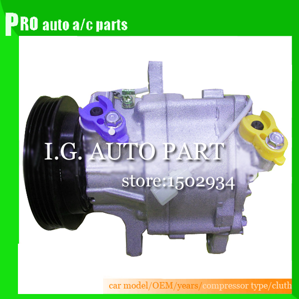 Auto air conditioning compressor SC06E PV4 for Car Daihatsu For Car Toyota Terios купить
