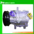 Auto air conditioning compressor SC06E PV4 for Car Daihatsu For Car Toyota Terios