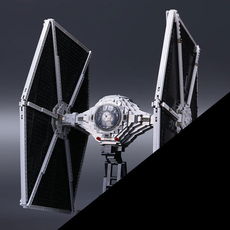NEW 1685pcs 05036 1685pcs Star Series Tie Building Fighter Educational Blocks Bricks Toys Compatible with 75095 wars lepin tie fighter 05036 1685pcs star series wars building bricks educational blocks toys for children gift compatible with 75095