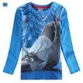 Novatx Autumn children t shirts causal boys t shirts for boys clothes long sleeve print cartoon kids clothing A5032