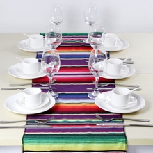 Home Practical Fashion Table Flag Beach Towel Mexican Style Blanket Picnic Handmade Striped Tablecloth