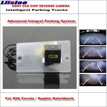 Liislee Dynamic Guidance Rear Camera For Kia Cerato / Sephia Hatchback 580 TV Lines HD 860 Pixels Parking Intelligentized
