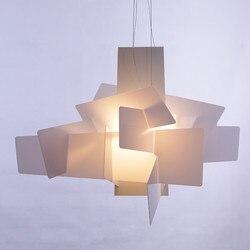 D65cm/95 cm nowoczesne akrylowe Big Bang układania kreatywny nowoczesny żyrandol oświetlenie artic lampa wisząca sufit E27 żarówki LED 90 260 V w Wiszące lampki od Lampy i oświetlenie na