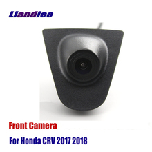 Liandlee AUTO CAM Car Front View Camera For Honda CRV CR-V 2017 2018 Logo Embedded ( Not Reverse Rear Parking )