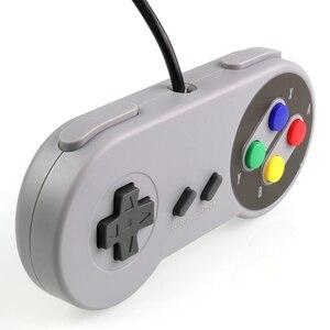 Image 5 - USB Controller Gaming Joystick Gamepad Controller for Nintendo SNES Game pad for Windows PC For MAC Computer Control Joystick