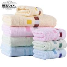 Новый 2017-2 шт./компл. bamboo towel set (1 ШТ. bath towel 70*140 см + 1 ШТ. hand towel 34*75 см) замороженные полотенца ванная комната MMY Марка