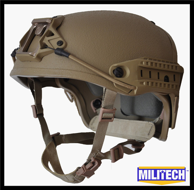 M/LG Coyote Brown CB NIJ level IIIA 3A Air Frame Kevlar Bulletproof Airframe Helmet With Ballistic Test Report 5 Years Warranty