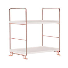 Iron Corner Organizer Bathroom Shelf Kitchen Storage Rack Holder 2/3 Tier 600g/975g Practical Storage Shelf New Arrival #Ju(China)