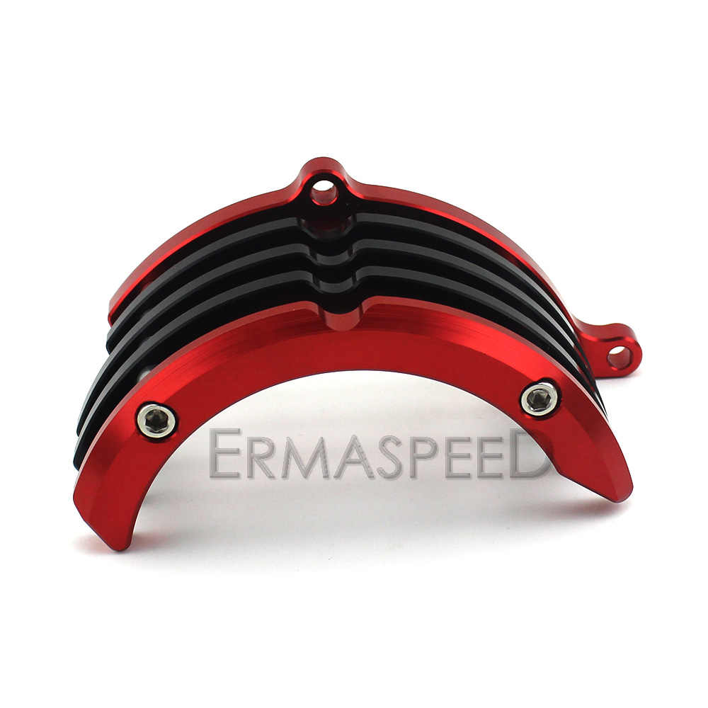 CNC Aluminium Motorrad Motor Schutz Seite Protector Abdeckung Kits für Kawasaki Z125 Z 125 Pro Mini Motor Grün Blau Rot gold Orange