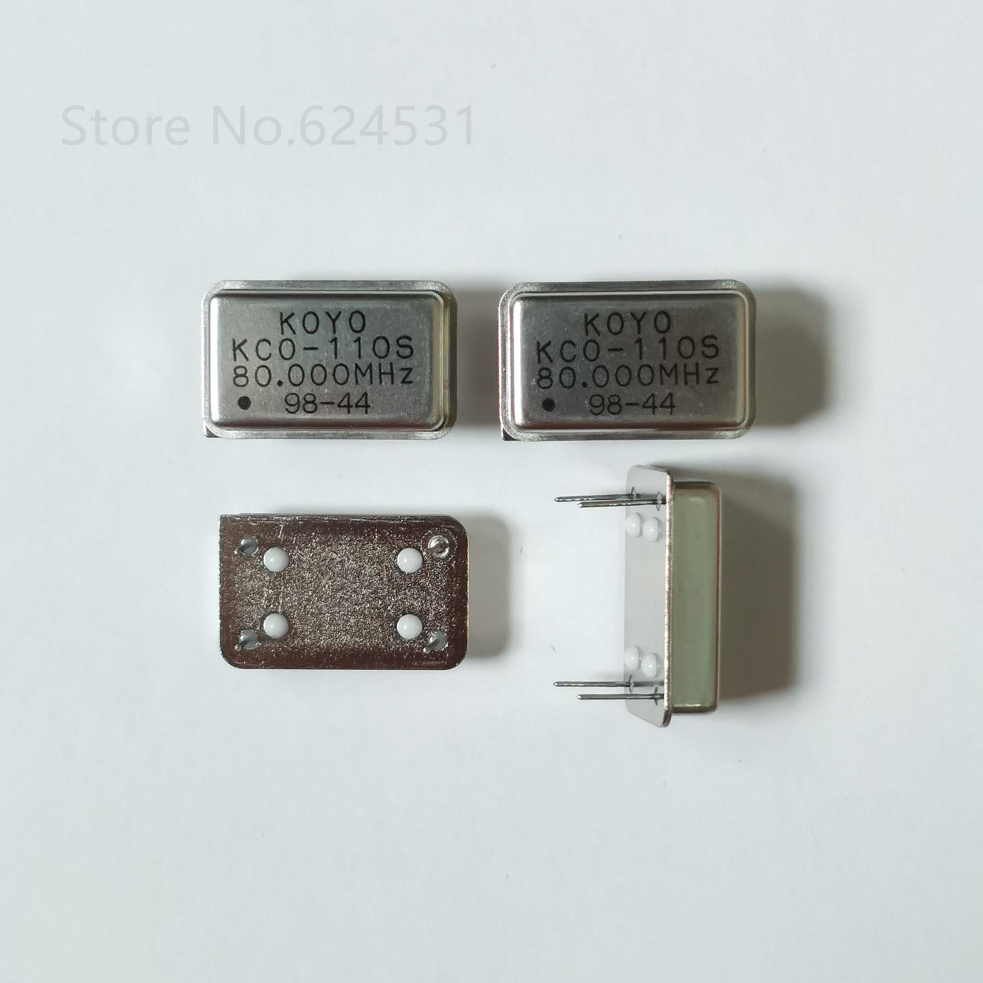 5Pcs 125 Mhz 125.000MHZ Active Crystal Oscillator Osc Square Dip 4 ke