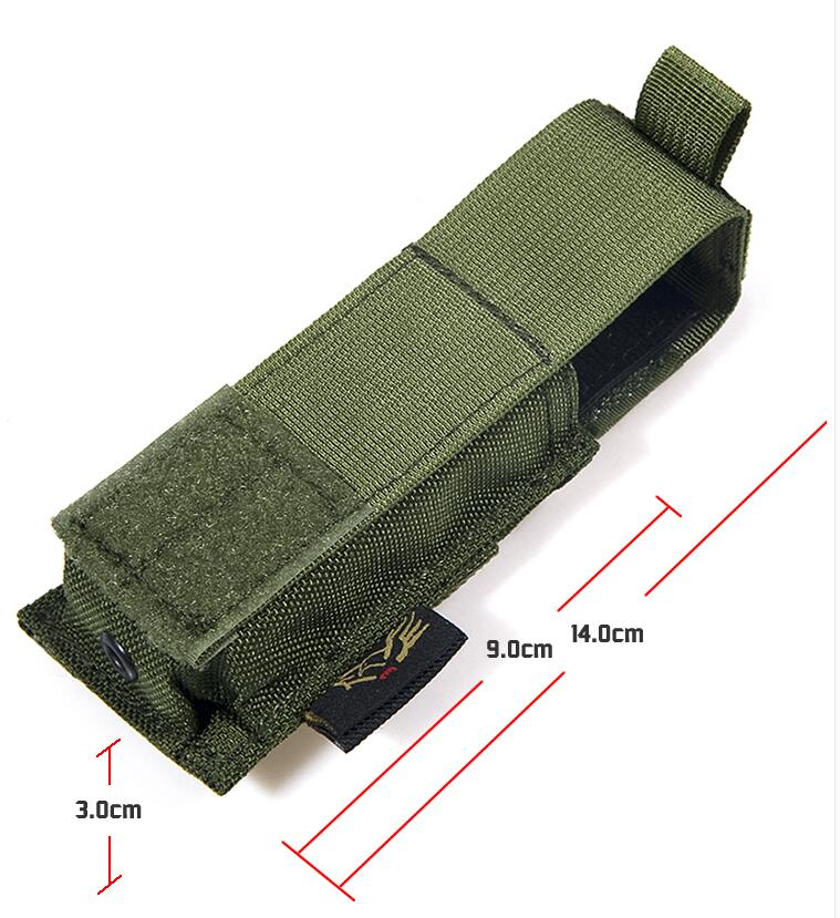 FLYYE MOLLE 9mm Pistol Magazine Pouch Ver.HP Military camping modular combat CORDURA P007