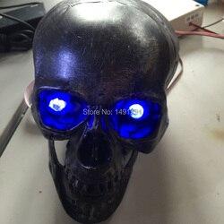 Takagism gry rekwizyty czaszki czujnik światła  aby odblokować prawdziwe życie ucieczki pokoju gry rekwizyty podpórka do tajemniczego pokoju ucieczki