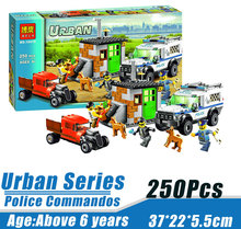 Bela 10419 Urban City Police Commandos Minifigures Building Block Minifigure Toys Best Toys Compatible with Legoe