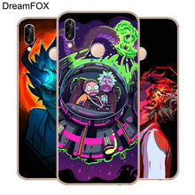 DREAMFOX M284 Rick And Morty Animation Soft TPU Silicone Case Cover For Huawei Honor 6A 6C 6X 7A 7C 7S 7X 8 Lite Pro