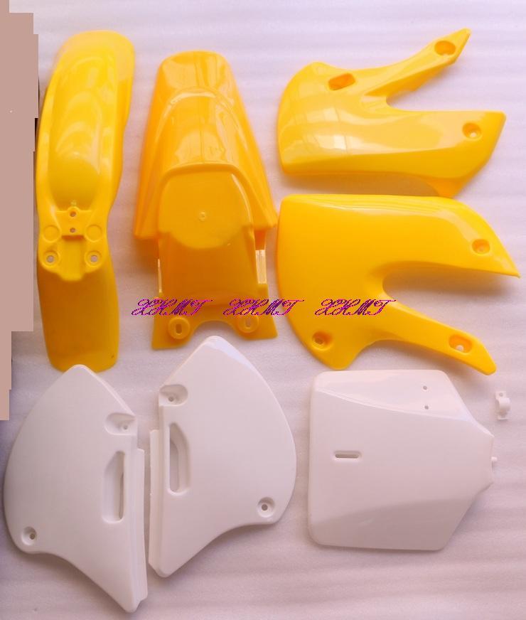 Пластик кузова обтекатель набор кузова для Кавасаки KLX110 ББР КЛК 110