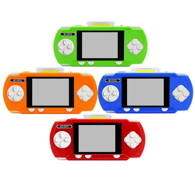 M100A  Handheld Mini Retro Game Player Portable Pocket  Video Game Console PVP handheld Game Player with 328 Different Games