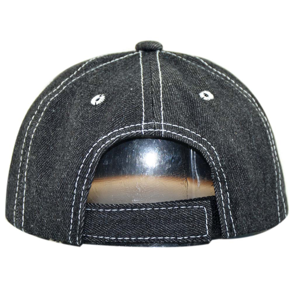 Baby Bear Unisex Baseball Cap Cotton Denim Amazing Adjustable Sun Hat for Men Women Youth Black