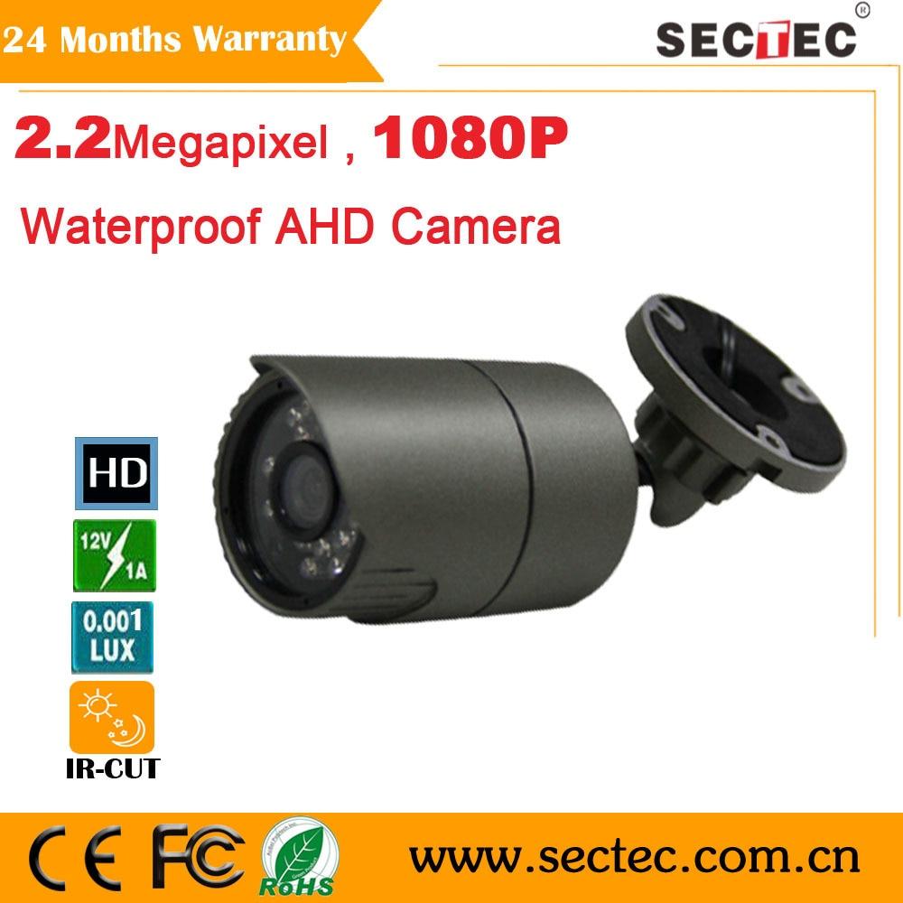 ФОТО 1080P 2.0 Megapixel Full HD 1080P Waterproof AHD Camera IR 20M cctv camera 1080P Surveillance camera system indoor and ourdoor