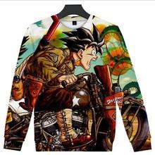Hip Hop Fashion Brand Clothing Dragon Ball Z DBZ Pocket Hooded Jacket 3D Print Super Saiyan Hero Vegeta Men Hoodies Sweatshirts