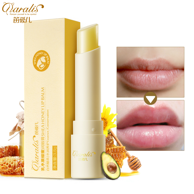 3.5G Natural Honey Chapstick Lip Balm Plumper Repair Wrinkle Dry Moisturizing Anti Aging LipBalm For Woman Winter Lips Care Baby image