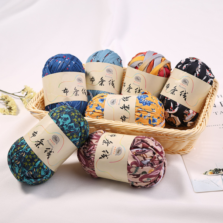 Mylb 1 Ball 100g Woolen Yarn DIY Knitting Wool For Rugs Woven Thread Cotton Cloth Yarn Hand Crocheted Basket Fancy Yarn Fabric