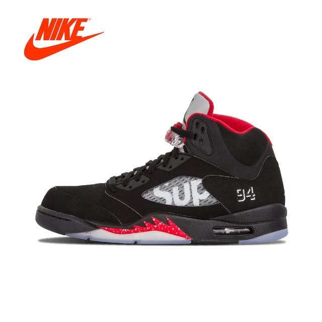 Rétro Jordan Suprême Hommes Officiel De Air D'origine Nike 5 qwxSxntXa4