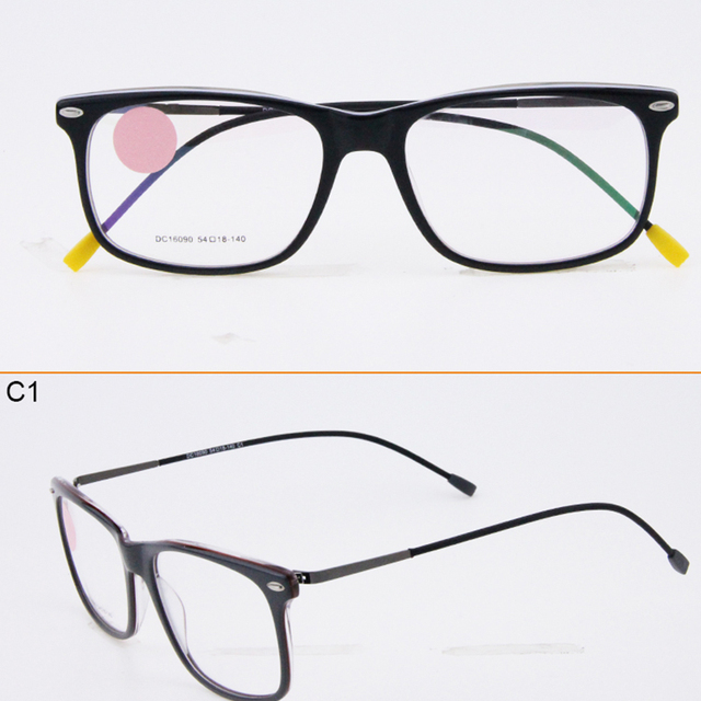 5f73a122e0 Wholesale New Arrival New Model Eyewear Frame Acetate Eyeglasses Instock  Designers Eyeglasses Frames DC16090 Cheap Top Quality