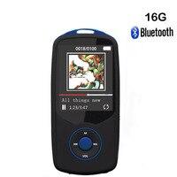 Original RUIZU X06 Bluetooth MP3 Wireless Hifi Music Player 16GB Speaker Sports Lossless Recorder Walkman FM