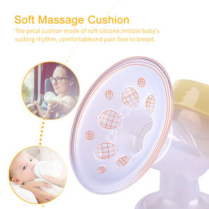 Image 3 - USB Charging Double Pump Breast Electric Extractor Breast Milk Pumps With Massage Mode BPA Free LCD Display Breastfeeding Pump