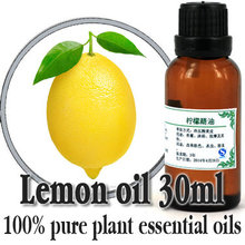 Free shopping skin cacre100% pure plant essential oils Argentina imports Lemon essential oil 30ml Whitening Shrink pores