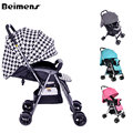 Beimens Baby Two-way Cart Light Car Umbrella Ultra Light Child Stroller Baby Stroller Accessories European Baby Strollers
