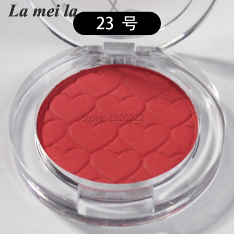 New Single Baked Long Lasting Eye Shadow Powder Eyeshadow Makeup 12 Colors Options deep red N23