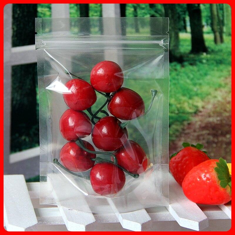100 stks-500 stks Transparante Hersluitbare Stand Up Plastic Zakken, - Home opslag en organisatie - Foto 5