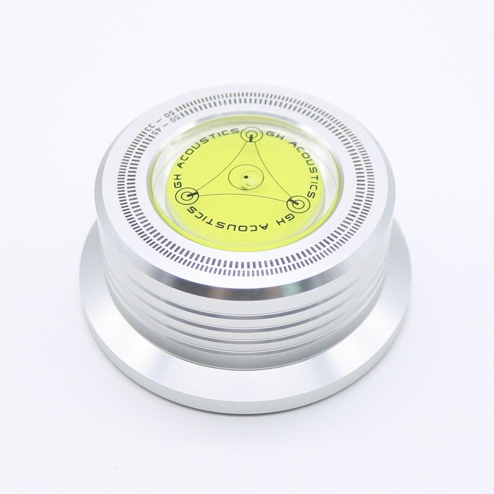 Swivel Platten Heimwerker Freies Verschiffen 3 In 1 Metall Record Clamp Lp Disc Stabilisator Plattenspieler Für Schallplatte Plattenspieler Vibration Ausgewogene Silber Fein Verarbeitet