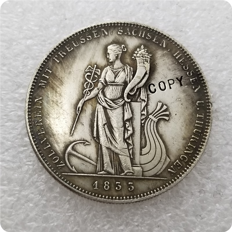 <font><b>1833</b></font> German states coin COPY commemorative coins-replica coins medal coins collectibles image