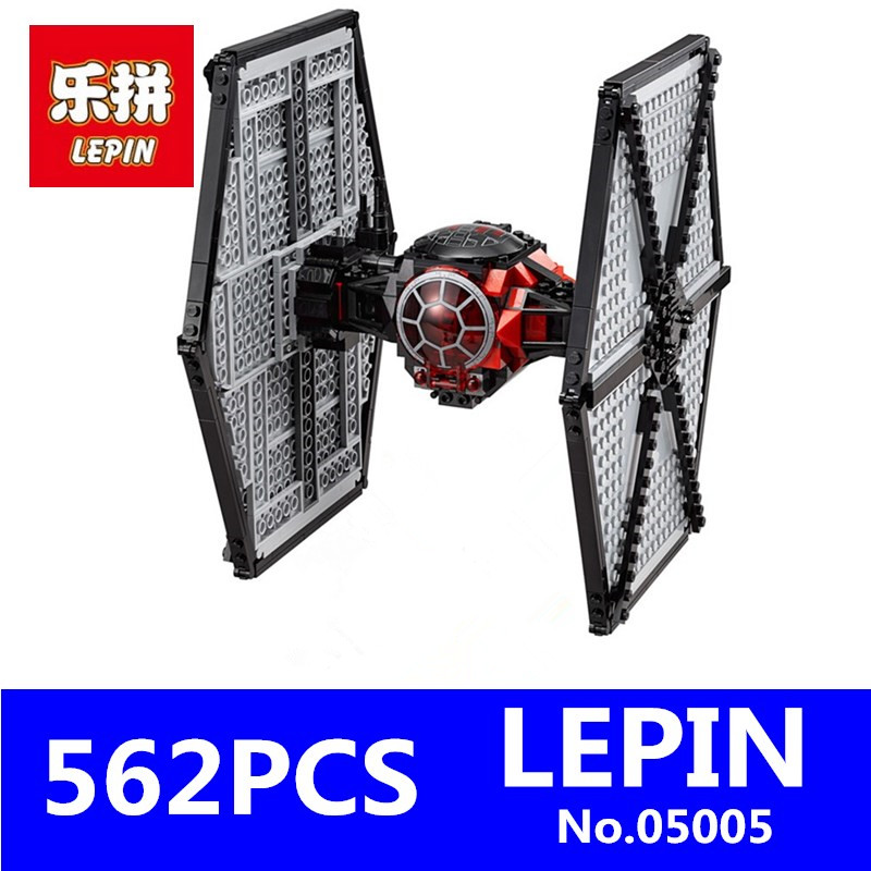First Order Special Forces TIE Fighter Model LEPIN 05005 Star Wars Building Block Bricks Toys for Children Compatible With 79210 longet bluetooth car charger with two reversible usb ports and stereo noise canceling bluetooth earphone for iphone android