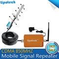 Venda QUENTE! completa Inteligente Telefone Móvel CDMA 850 mhz 3G Repetidor Celular Amplificador repetidor de Sinal de celular/Booster com antena