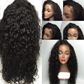 Fashion High Density Kinky Curly Wigs With Baby Hair Heat Resistant Loose Curl Synthetic Lace Front Wig For Black Women