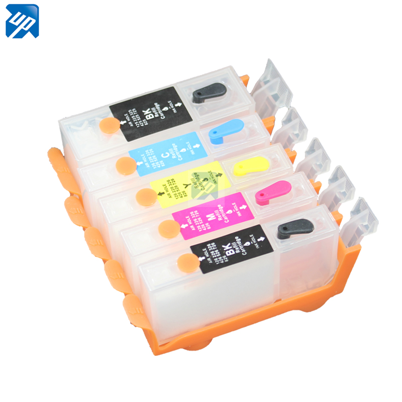 10sets PGI 125 CLI126 BK refillable Ink cartridges with ARC chip for PIXMA IP4810 IP4910 IX6510
