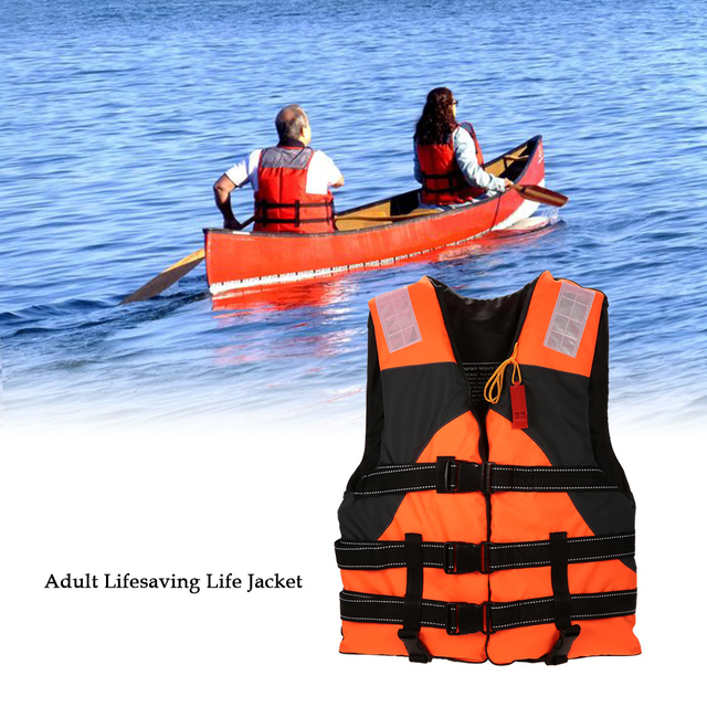 Lixada Outdoor Adult Lifesaving Life Jacket Vest Swimming Marine Life  Jackets Safety Survival Suit Aid for