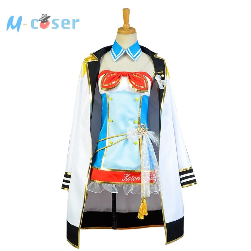 LoveLive marin Costume amour en direct Minami Kotori Marine uniforme filles Marine Anime Halloween Cosplay Costumes pour les femmes ensemble complet