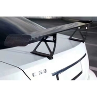 C CLass W204 C63 coupe carbon fiber black series trunk spoiler rear wing fit for C63 carbon rear spoilers C63