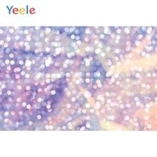 Yeele Wallpaper Purple Bokeh Glitter Lights Decor Photography Backdrops Personalized Photographic Backgrounds For Photo Studio
