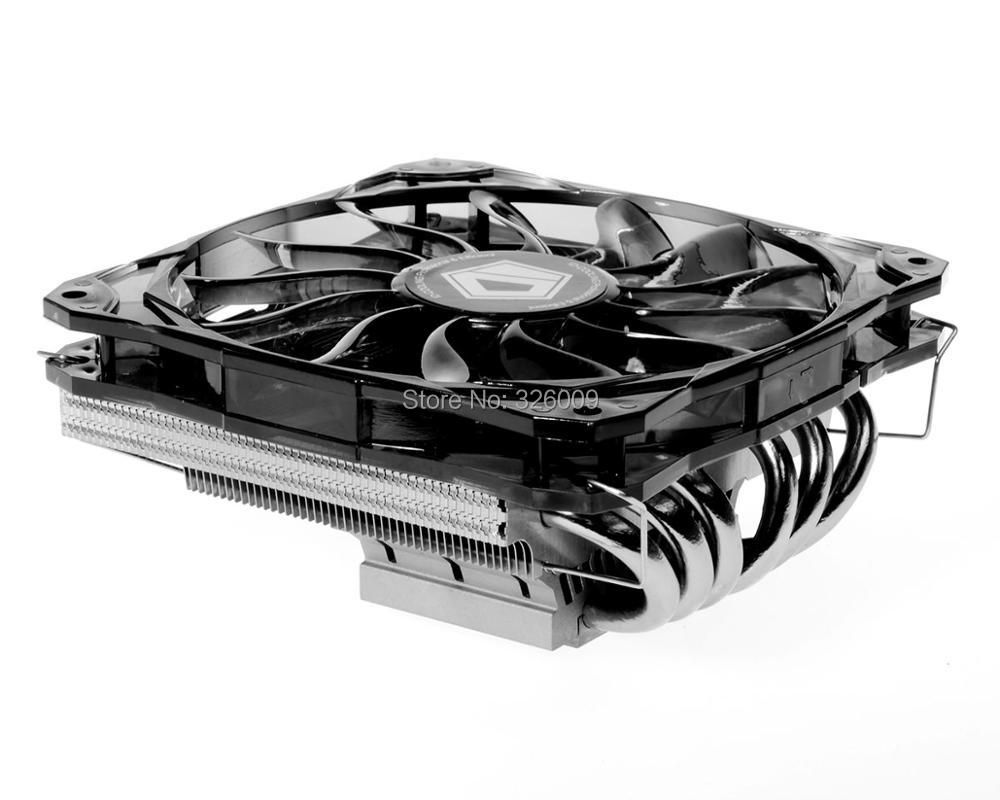 12cm 4pin fan PWM, Direct Touch, support 130W cooling for Intel LGA775 115X 1366 for AMD all, CPU cooler, ID-cooling IS-60 платья jn платье