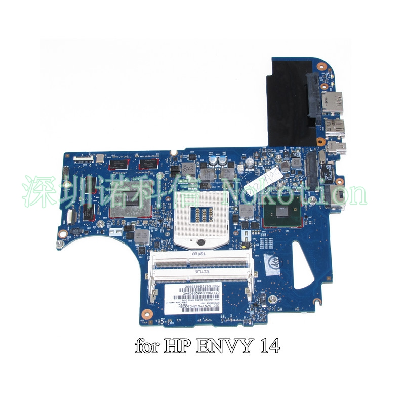NOKOTION 608364-001 608365-001 6050A2316601-MB-A04 Main board for HP envy 14 envy14-1000 laptop motherboard HM55 HD5650 DDR3 цена 2017
