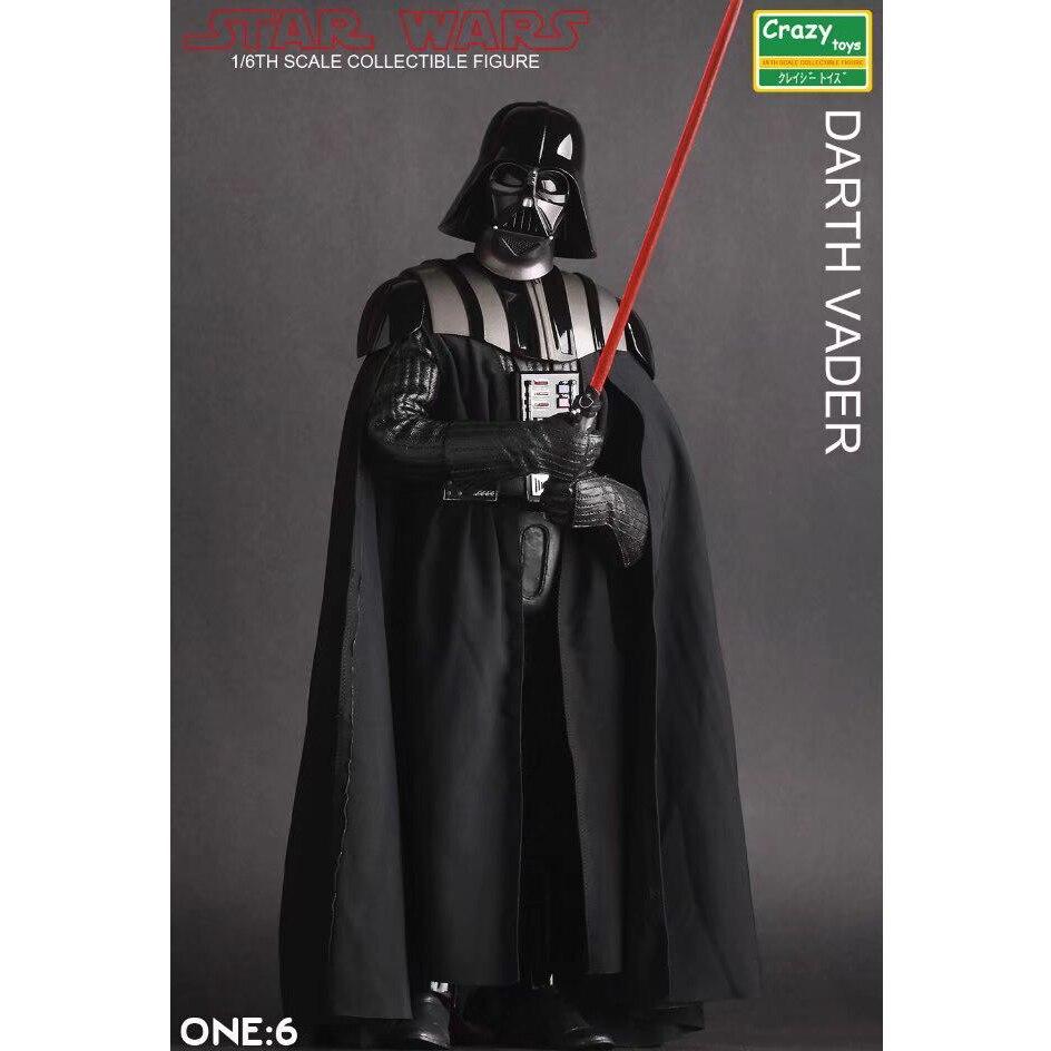 30 cm Chaude Film Star War Darth Vader Affichage Modèle Jouet Anime Star War Collection D'affichage Jouet 1:6 Échelle Brinquedos cadeau de noël