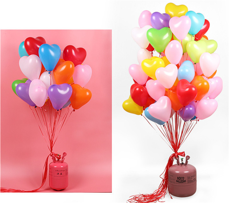 10Pc Love Heart Latex Helium Balloon For Wedding And Valentine Day Celebration 11