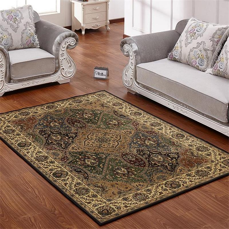 American Style Carpets For Living Room Luxurious Bedroom Rugs And Classic Turkey Study Floor Mat
